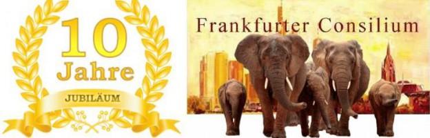 """Jubiläum """"10 Jahre Frankfurter Consilium"""" Das Elefantentreffen"""