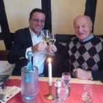 Das Gespann Ralf Kollinger und der Krebsforscher aus der Ukraine Dr. Dipl. Ing. Wassil Nowicky