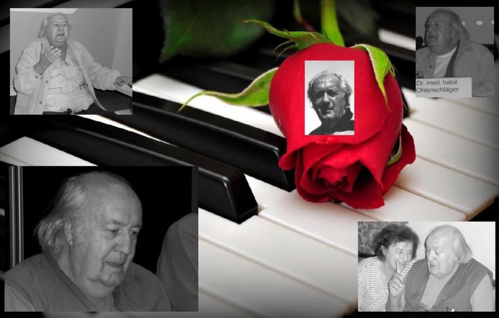In Gedenken an unseren Prof. Dr. med. habil. Gerhard Ohlenschläger, er verstarb am 3. Juli 2008 an Herzversagen.