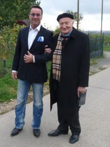 Ralf Kollinger und Forscher Dipl. Ing. Dr. Wassil Nowicky