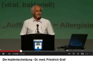 Die Impfentscheidung von Dr. med. Friedrich Graf