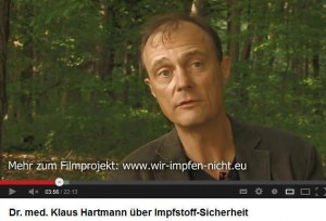 Dr. Hartmann war 10 Jahre lang im Paul-Ehrlich-Institut für die Sicherheit von Impfstoffen zuständig