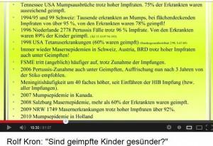 Rolf Kron, sind geimpfte Kinder gesünder