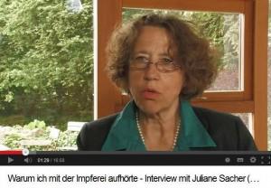 Warum ich mit der Impferei aufhörte_Interview mit Juliane Sacher