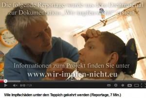 Wie Impfschäden unter den Teppich gekehrt werden,Reportage, 7 Min.