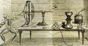 Darstellung von Galvanis Labort