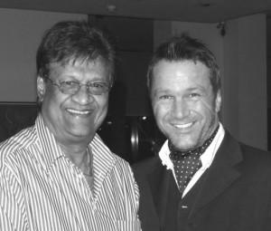 Der Ex-Pharmamanager Dr. John Virapen und Ralf Kollinger