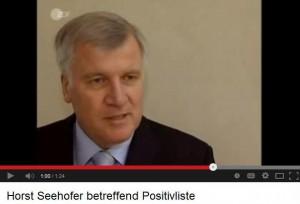 Horst Seehofer, die Politik, die Nähe und der Druck der Pharma-Industrie