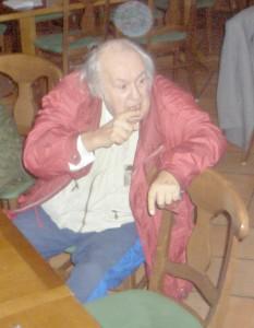 Dr. med. habil Gerhard Ohlenschläger und der immer wieder mahnende Zeigefinger
