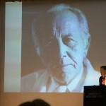 Prof. Dr. Ralf Kleef aus Wien mit seiner bemerkenswerten Laudatio des alten Wegbereiter Dr. Josef Issels
