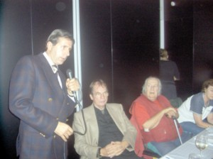 Univ. Doz. Dr. John Ionescu mit Dr. Gerhard Ohlenschläger und Ralf Kollinger im Frankfurter Consilium 27. September 2006