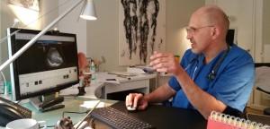 Ralf Kollinger bei Dr. Thomas Giesen gemeinsam im Interview zu PDT Photodynamische Therapie und Diagnostik. Der Zusammenhang und die dringende Notwendigkeit von Therapieverläufen und Dokumentation