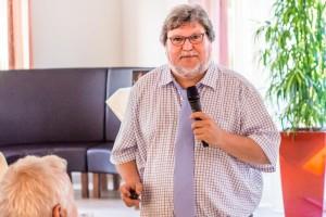 Der Frankfurter Consilium Ehrenpreisträger Dr. Alfons Meyer - Immunologie und Tumorbiologie am 31. August 2016 im Frankfurter Consilium bei Ralf Kollinger
